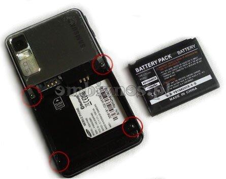 Samsung f480 wymiana lcd