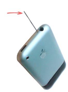 jak rozkręcić iphone 3g