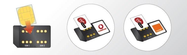 dwie karty sim w telefonie
