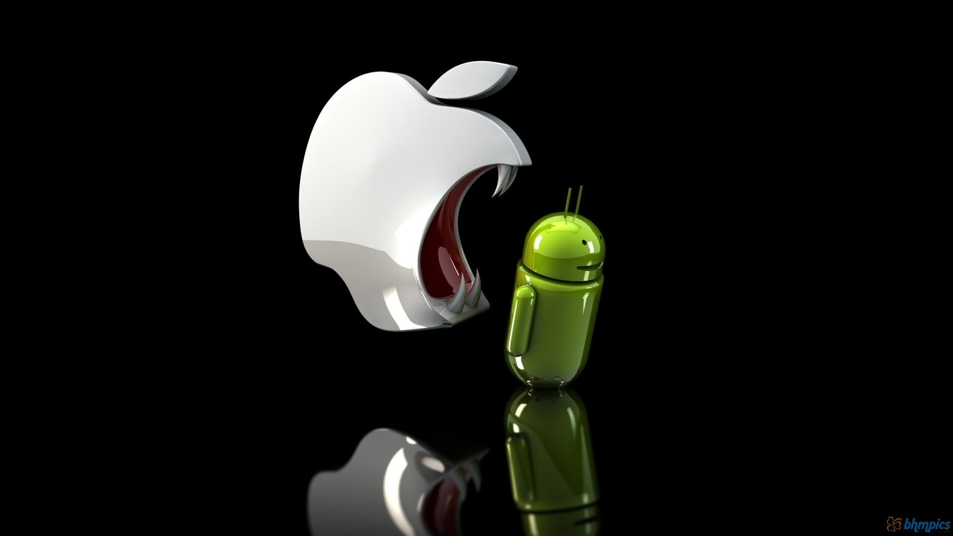 apple zjada androida