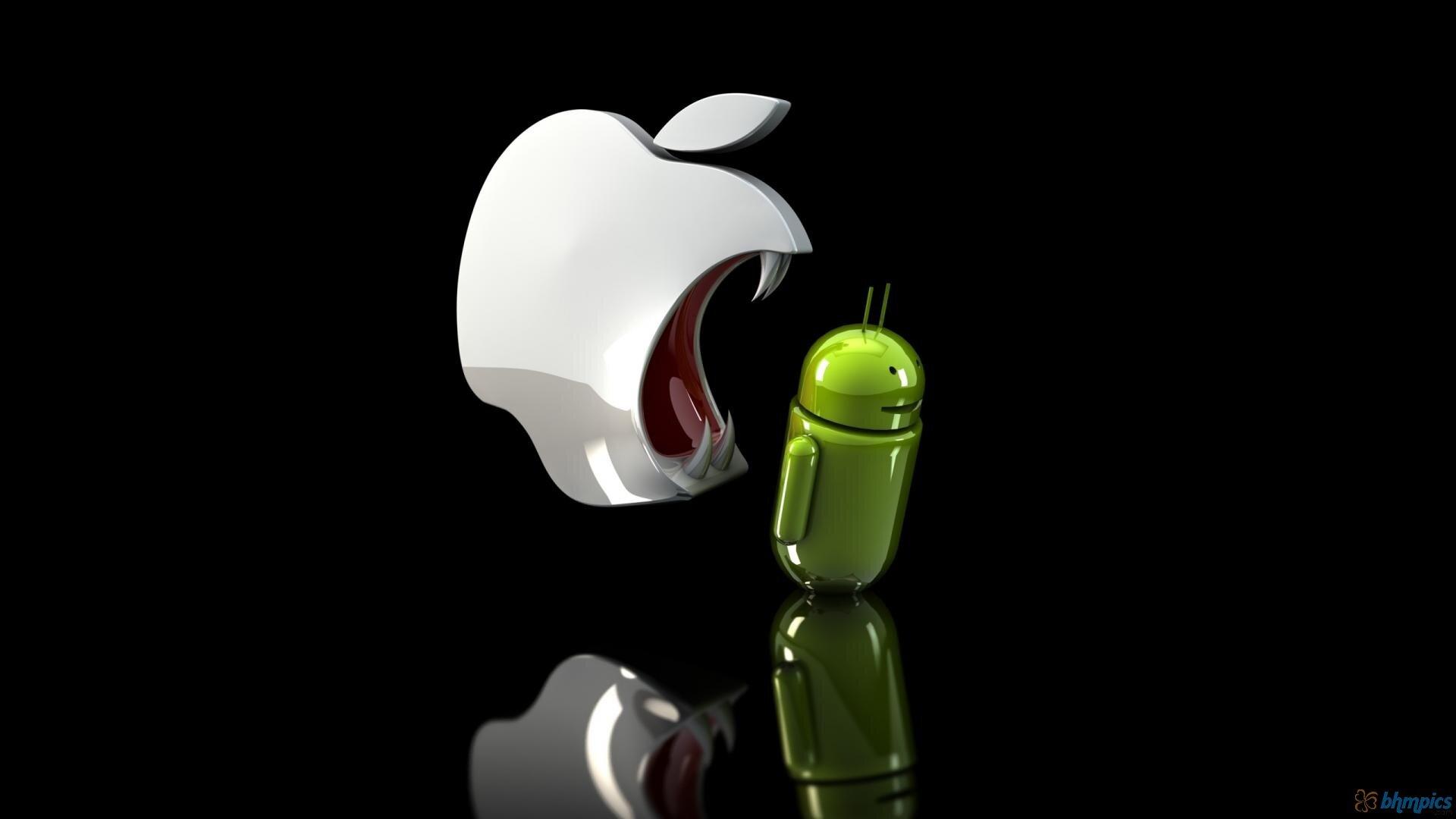 apple zjada androida
